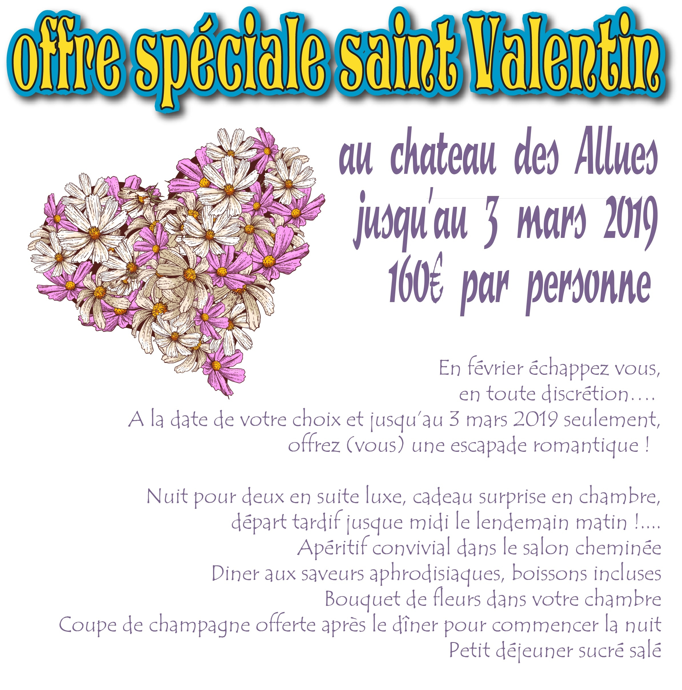 "GIFT CERTIFICATE AND SPECIAL OFFER ""SAINT VALENTIN"""