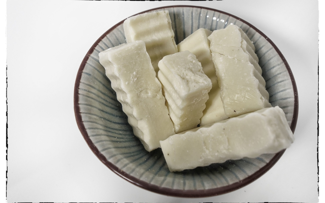 Our natural soap, almond shea olive NO 1